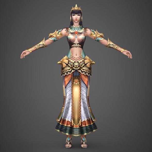 Egyptian Queen - 3DOcean Item for Sale