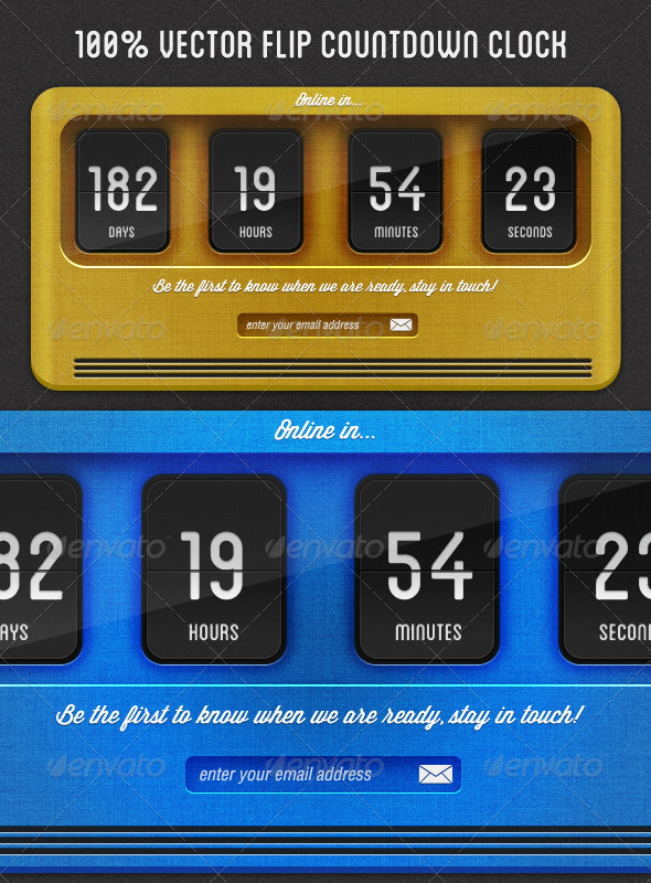 GraphicRiver Flip Countdown Clock 1865753