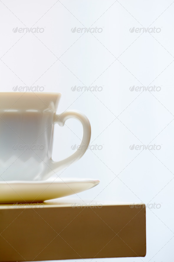 Cup at workplace - Stock Photo - Images