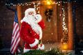 Surprise, Santa Claus arrives