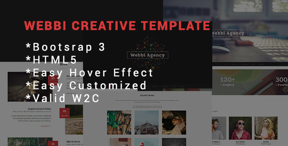 Download Webbi Creative Template