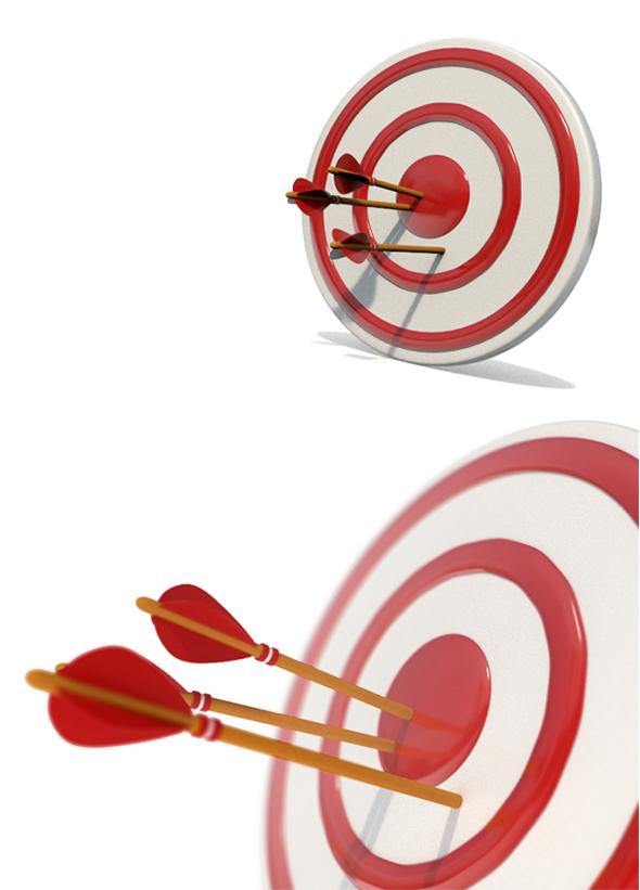 3DOcean Arrow and Target 18961586