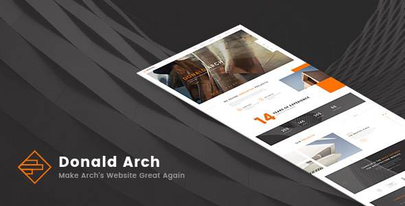 Download Donald Arch - Responsive Architecture HTML5 Template