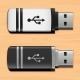 Illustration USB Flash Drives