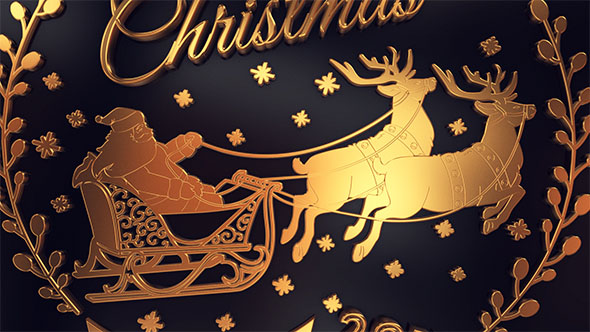 Download Gold Christmas Greetings nulled download