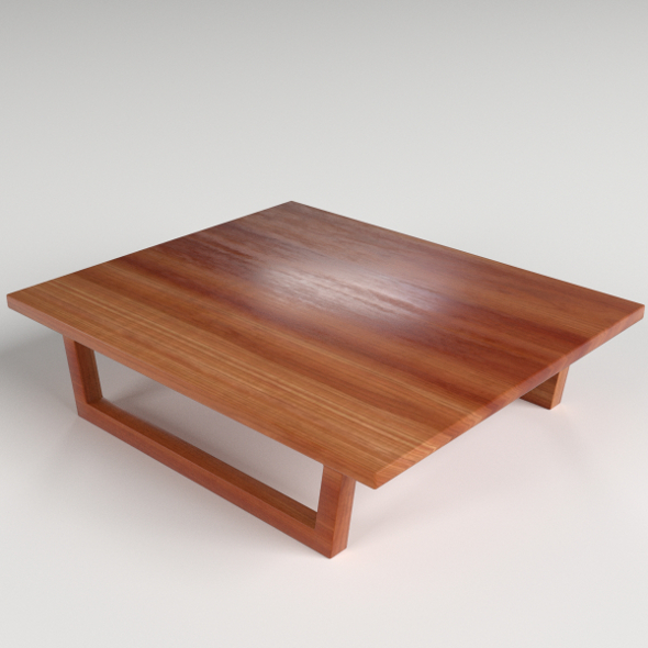 Small Side Table 1 - 3DOcean Item for Sale