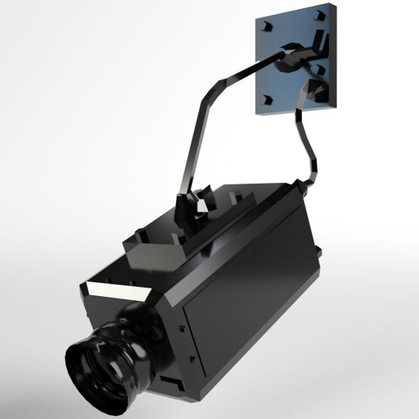 Surveillance Camera - 3DOcean Item for Sale