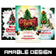 3 in 1 Christmas Flyer/Poster Vol.2
