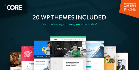 The Core - Multi-Purpose WordPress Theme