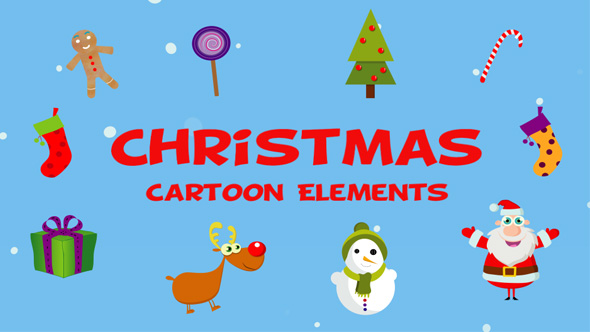 Download Christmas Cartoon Elements nulled download