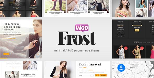 Frost - Minimal AJAX WooCommerce Theme