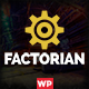 Factorian - Responsive Multipurpose Business WordPress Theme