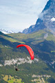 Paraglider in the Swiss Alps  - PhotoDune Item for Sale