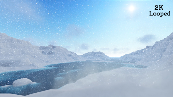 VideoHive Snow Mountain 18969081