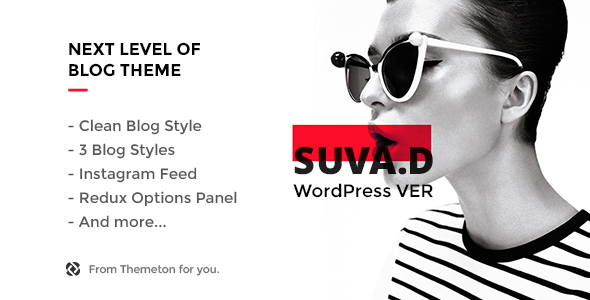 Download SUVAD - Personal Blog WP Theme nulled download