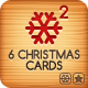 Six Christmas Cards Bundle 2