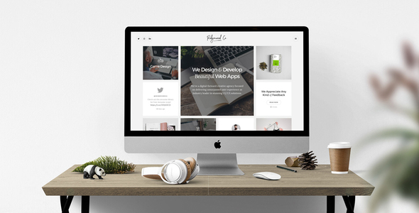 Ridgewood Co. – Responsive HTML5 Portfolio for Creatives