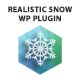 Realistic Snow WordPress Plugin