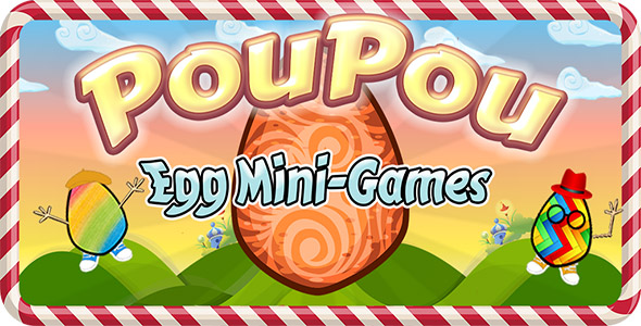 Poupou Egg Game – Android Source Code (Games) Download