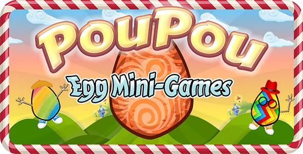 Poupou Egg Game – iOS Source Code (Games) Download