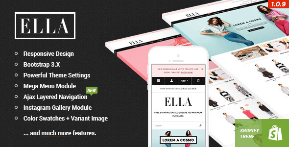 ella responsive shopify template preview. large preview. large preview - Ella - Responsive Shopify Template