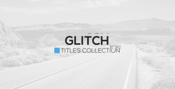 Download Glitch Titles Package nulled download