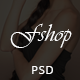 FShop - Fashion/Clothing eCommerce PSD Template