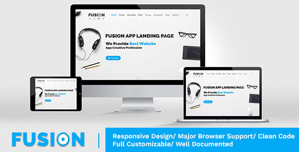 Fusion - Responsive Multipurpose - HTML Template (Technology) Fusion - Responsive Multipurpose - HTML Template (Technology) preview