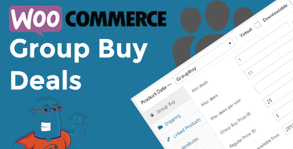 WooCommerce Group Invest in and Offers (Merchandise)