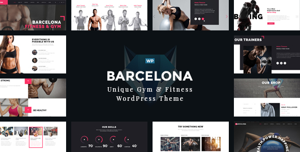 Download Barcelona - WordPress Theme for Fitness Gym and Fitness Centers nulled download