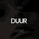 Duur - Music Band Musicians & DJ's HTML Template