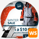 Winter & Christmas Sale Web Sliders