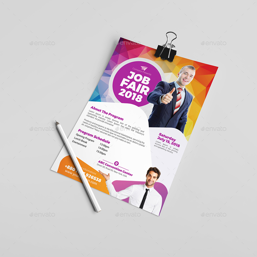 job fair flyer template v by aam graphicriver job fair flyer template v2 events flyers middot set 01 jpg