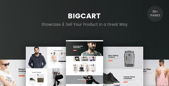 Bigcart – eCommerce PSD Template (Buying)