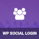 Social Login for WordPress WooCommerce BuddyPress bbPress