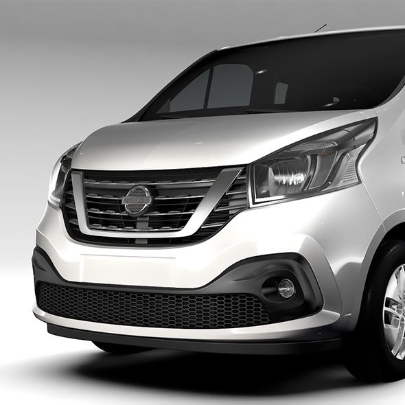 Nissan NV 300 Combi 2016 - 3DOcean Item for Sale