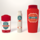 Toiletries Products Set - Deodorant and Shampoo