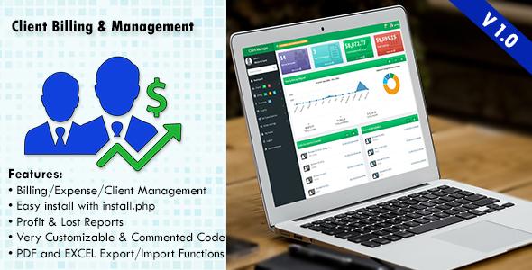 Client Billing & Management System (Miscellaneous) Download