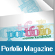 Minimalist & Colorful Portfolio Mazagine & PDF - GraphicRiver Item for Sale