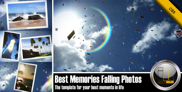 VideoHive Best Memories Falling Photos 1868349