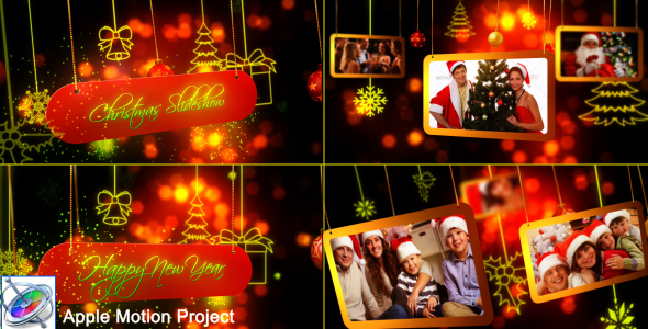 Download Christmas Slideshow - Apple Motion nulled download
