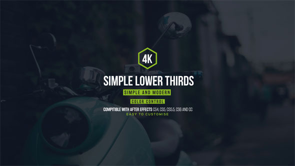 Download Simple and Cool Lower Thirds nulled download