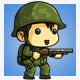 Tiny Chinese Soldier