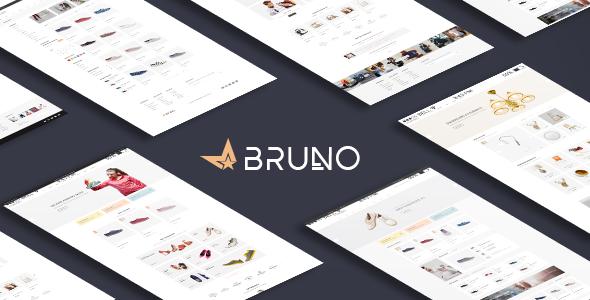 Bruno - Responsive Fashion Magento Theme