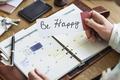 Smile Happy Cheerful Leisure Positivity Recreation Concept