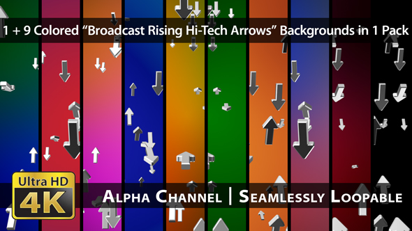 Download Broadcast Rising Hi-Tech Arrows - Pack 01 nulled download