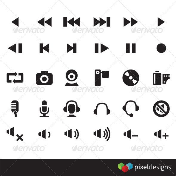 30 Media Icon