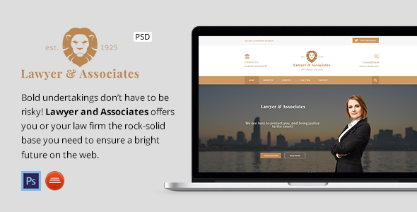 Lawyer & Associates - Attorney / Law Company PSD