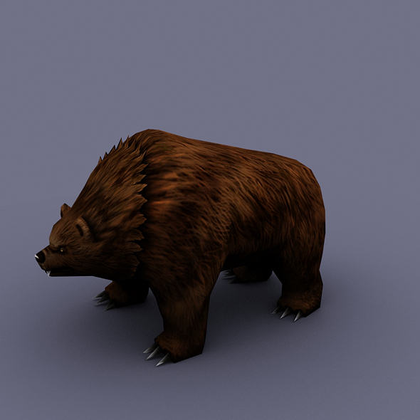 Cave Bear - 3DOcean Item for Sale