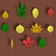 Low poly Leafs Pack